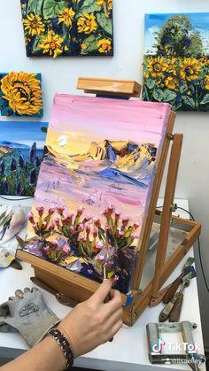 Canvas Painting Tutorials, Diy Canvas Art, Art Paintings, Unique Paintings, Portrait Paintings, Nature Paintings, Acrylic Paintings, Contemporary Paintings, Acrylic Art