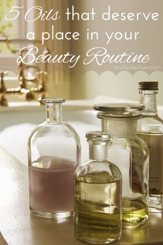 5 Oils That Deserve a Place In Your Beauty Routine