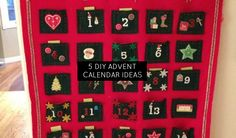 As soon as December 1st hits, the kids are in countdown mode for Christmas!  With little treats along the way, being patient has it's rewards. It's fun to make your own advent calendar and personalize it for your children. We've got simple ideas to make advent fun for your family.