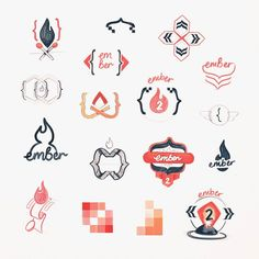 A small sampling of many crappy sketch experiments and idea nuggets while developing an egghead.io Ember 2 course illustration.  Mix of flames embers and the distinctive handlebar { } brackets used when writing an Ember.js web app.  #ember #handlebars #sketches #javascript #js #webapp  #ideageneration #process #brainstorming #frontend #webdevelopment  #egghead #code #coding #developers #development
