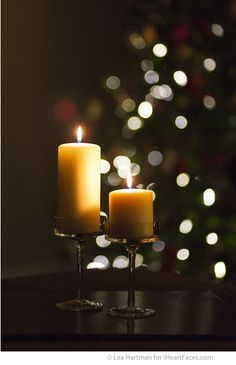 How to Photograph Candlelight - Photography Tips via iHeartFaces.com