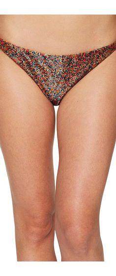 Agua De Coco by Liana Thomaz Beaded Bikini Bottom (Milho) Women's Swimwear - Agua De Coco by Liana Thomaz, Beaded Bikini Bottom, C537L558, Apparel Bottom Swimwear, Swimwear, Bottom, Apparel, Clothes Clothing, Gift - Outfit Ideas And Street Style 2017
