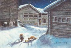 Julekort av Kjell E. Midthun - Selges av Rune19680 fra Oppdal på QXL.no