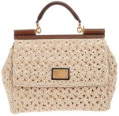 Dolce & Gabbana Miss Sicily Handbag in Beige