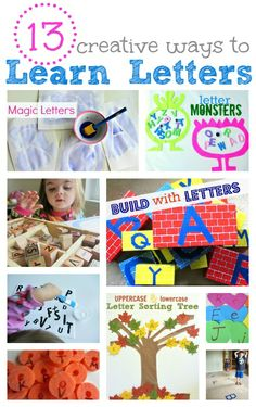 fun ways to learn letters