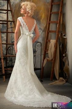 Discover the Mori Lee 1901 Bridal Gown. Find exceptional Mori Lee Bridal Gowns at The Wedding Shoppe Ivory Lace Wedding Dress, Wedding Dress Train, Lace Mermaid Wedding Dress, Backless Wedding, Wedding Dress Styles, Wedding Attire, Bridal Dresses, Wedding Gowns, Dress Lace