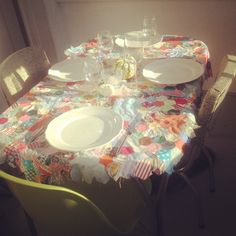 I would love it just as a table runner!   Could even do some for specific holidays!