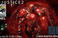 Injustice 2: painel da Comic-Con fala sobre dois novos personagens e novo gameplay