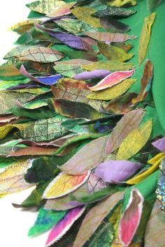 Botanical Fashion, Higher Art, Forest Theme, Body Adornment, Higher Design, Gcse Art, Fabric Manipulation, Teaching Art, Design Development