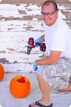 All the best tips and tricks for cleaning your pumpkin out like a pro!!