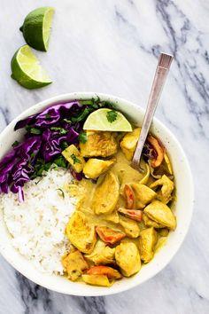 Easy Coconut Curry Chicken | Creme de la Crumb