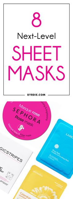 The best sheet masks for your face