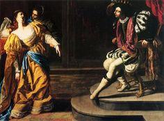 Un bellissimo dipinto di Artemisia Gentileschi che si trova al Metropolitan Museum di New York: Ester e Assuero. Ecco la nostra puntata dedicata a questa artista: http://www.finestresullarte.info/Puntate/2010/09-artemisia-gentileschi.php
