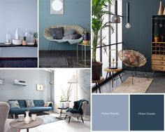 Ideas for Decorating a Living Room in Denim