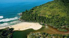 Ubatuba está localizada no litoral norte de São Paulo em uma área com mais de 80% de Mata Atlântica que encontra o oceano Atlântico. Essa característica faz com que a cidade seja propensa a atividades de ecoturismo e turismo de aventura nas diversas trilhas e cachoeiras da região.