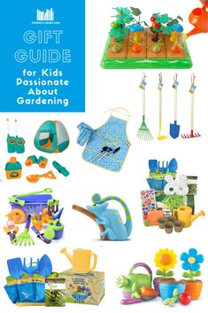 These wonderful gardening gifts for kids will inspire any green-fingered child to get outside and learn about the gardening process. Kids Gardening Gloves, Gardening Books, Childrens Gifts, Kids Gifts, Garden Tool Set, Stem Learning, Gifted Kids, Toy Rooms, Child And Child