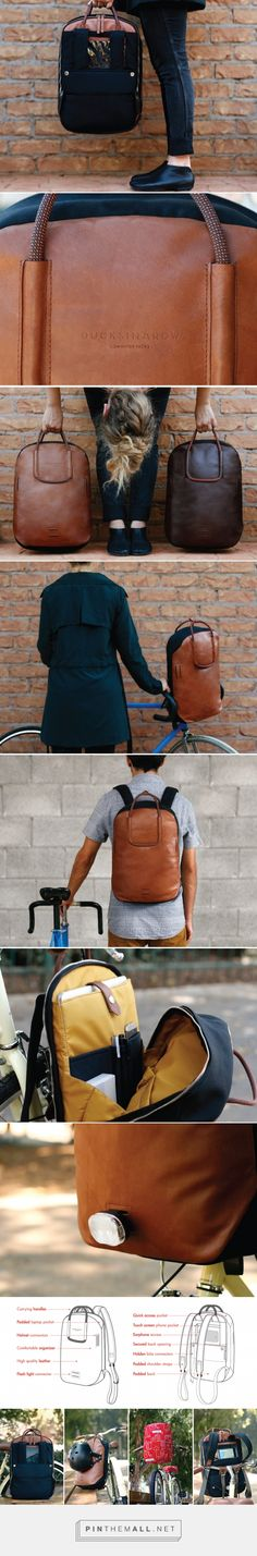 Front-of-the-line Backpack! | Yanko Design - created via http://pinthemall.net