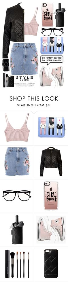 """""""Style Guide"""" by emcf3548 ❤ liked on Polyvore featuring StyleNanda, Topshop, River Island, H&M, Casetify, Menu, Madewell, Japonesque and Marc by Marc Jacobs"""