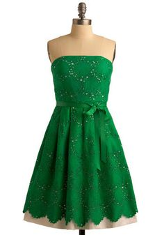 Love this St. Patrick's day dress!