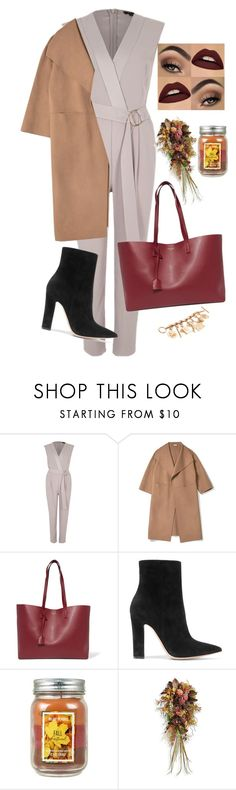 """fall"" by thefashionguilty on Polyvore featuring River Island, Yves Saint Laurent, Gianvito Rossi, Frontgate and Chanel"