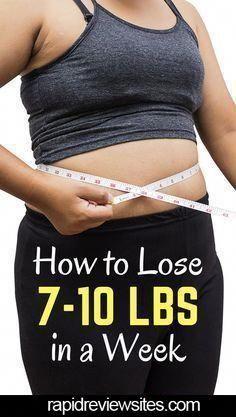 Wie man in 1 Woche Gewicht verliert