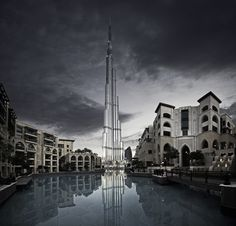 Last light -  Alisdair Miller  (I love the contrast between Dubai's traditional architectural and their new skyscraper, Burj Khalifa.  Currently the Burj Khalifa is the world's tallest skyscraper and was featured in the latest Tom Cruse movie, Mission Impossible movie. -TheAlchmist)