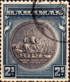 Bahamas 1931 Seal of Bahamas SG 131b Fine Used Scott 90 Other Bahamas Stamps HERE