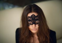 Brunette with black veil on eyes #hot #sexy #hairstyles #hairstyle #hair #long #short #buns #updo #braids #bang #blond #wedding #style #haircut #bridal #curly #bride #celebrity #black #white #trend #bob #girl #pantyhose #stockings #bikini #legs