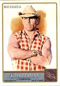 2011 Topps Allen and Ginter Baseball Card #159 Shawn Michaels - WWE HOF Wrestler - MLB Trading Card by Topps. $3.14. 2011 Topps Allen and Ginter Baseball Card #159 Shawn Michaels - WWE HOF Wrestler - MLB Trading Card