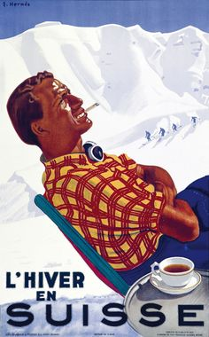 Hermès Eric - L'hiver en Suisse