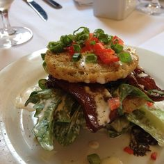 """The BLT Salad at The Olde Pink House made the cut on Food Network's """"Best Thing I Ever Ate."""" #Savannah #restaurants"""
