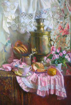 Горячева Светлана. Чай с лимоном