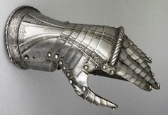 Gauntlets from the Wallace Collection, Britain