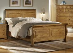 Artwork of Sleigh Beds Full Size Product Options