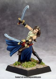 Reaper Miniatures - 14645 - Bladesinger Sister - Sculpted by Patrick Keith, Painted by Martin Jones