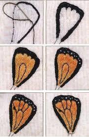 Картинки по запросу вышитые бабочки