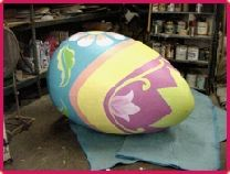 One of many giant egg styles.