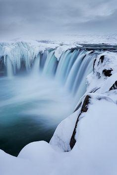 Godafoss, Iceland                                                       …