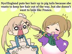 Nyotalia headcannons: Fem!England