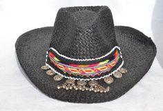 KUCHI HAT HANDMADE Hat Folk Hat Summer Hat por MISIGABRIELLA