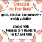 Not your average morning worksheets!