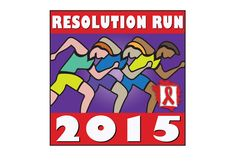 The Philadelphia Center's Resolution Run logo for 2015. 5K Run to raise funds for local HIV/AIDS organization.
