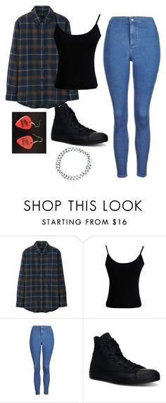 """Untitled #306"" by spiritxxmagic ❤ liked on Polyvore featuring Uniqlo, Topshop, Converse and ASOS #schooloutfits"