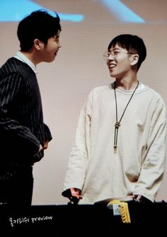 Taeil and PO