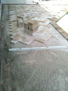 new tampa wesley chapel lutz florida travertine paver pool deck sand set pavers Lutz Florida, Florida Pool, Travertine Pavers, Brick Pavers, Pool Rails, Natural Stone Pavers, Tampa Homes, Deck Flooring, Backyard Patio