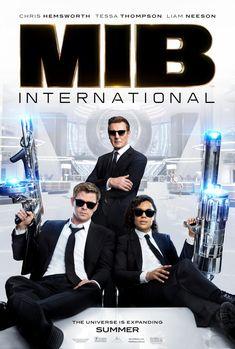 Liam Neeson, Chris Hemsworth, and Tessa Thompson in Men in Black: International Men In Black, Tessa Thompson, Liam Neeson, Tommy Lee Jones, Movies 2019, Top Movies, Movies And Series, Movies And Tv Shows, Amblin Entertainment