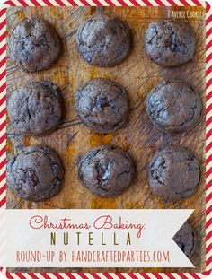 Christmas Baking recipes: Nutella  cookies
