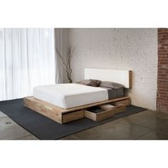 MASH Studios LAX Storage Platform Bed at DesignPublic.com