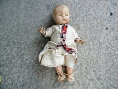 Creepy Doll / Collectable Doll / Composition by assemblage333, $28.00