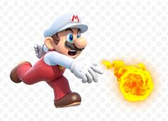 Fire Mario - Super Mario 3D World, Wii U